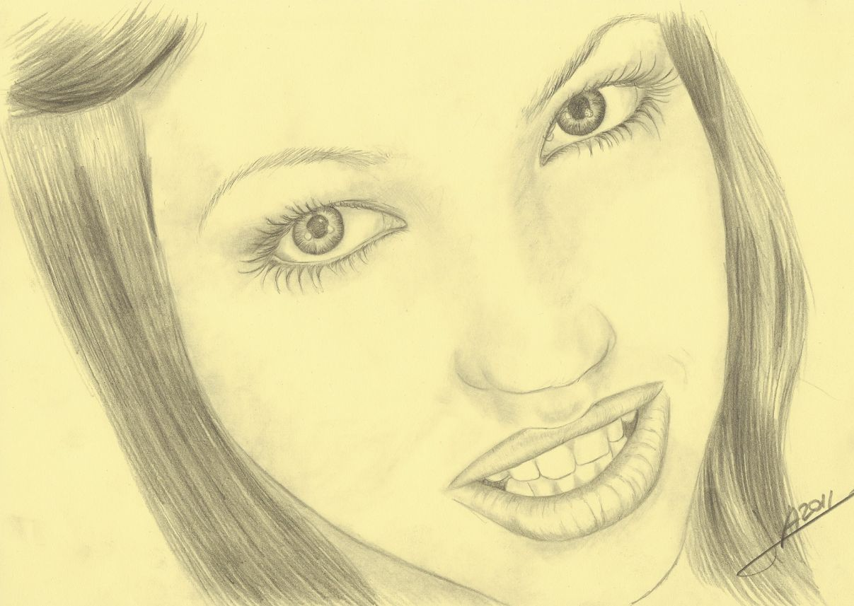 Retrato a lpiz Dibujos
