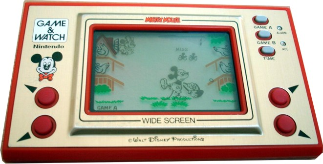 Consolas Lcd Game Watch