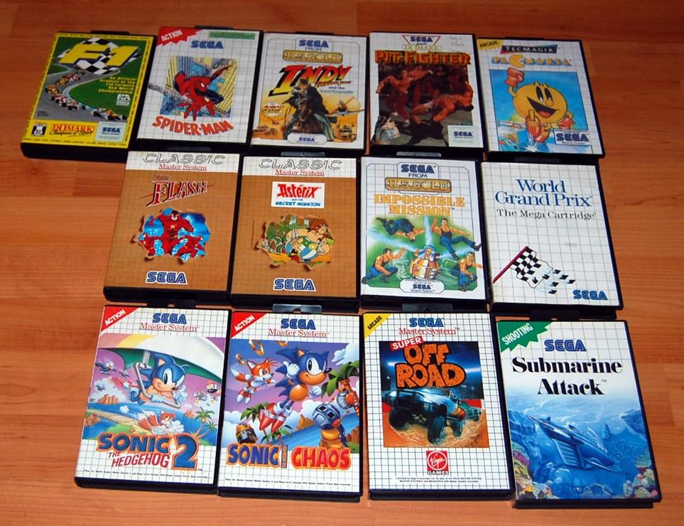 Master System Sega Mark Iii